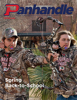 Cover of Feb. 2017 Panhandle Magazine