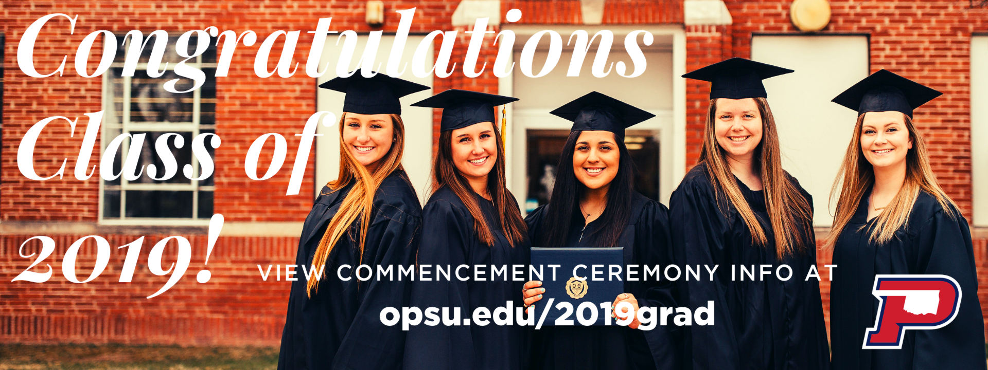 Congratulations Class of 2019 - VIEW COMMENCEMENT CEREMONY INFO