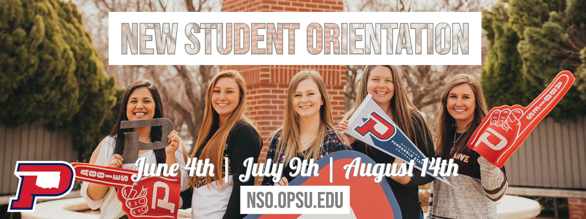 New Student Orientation June 4th, July 9th, August 14th