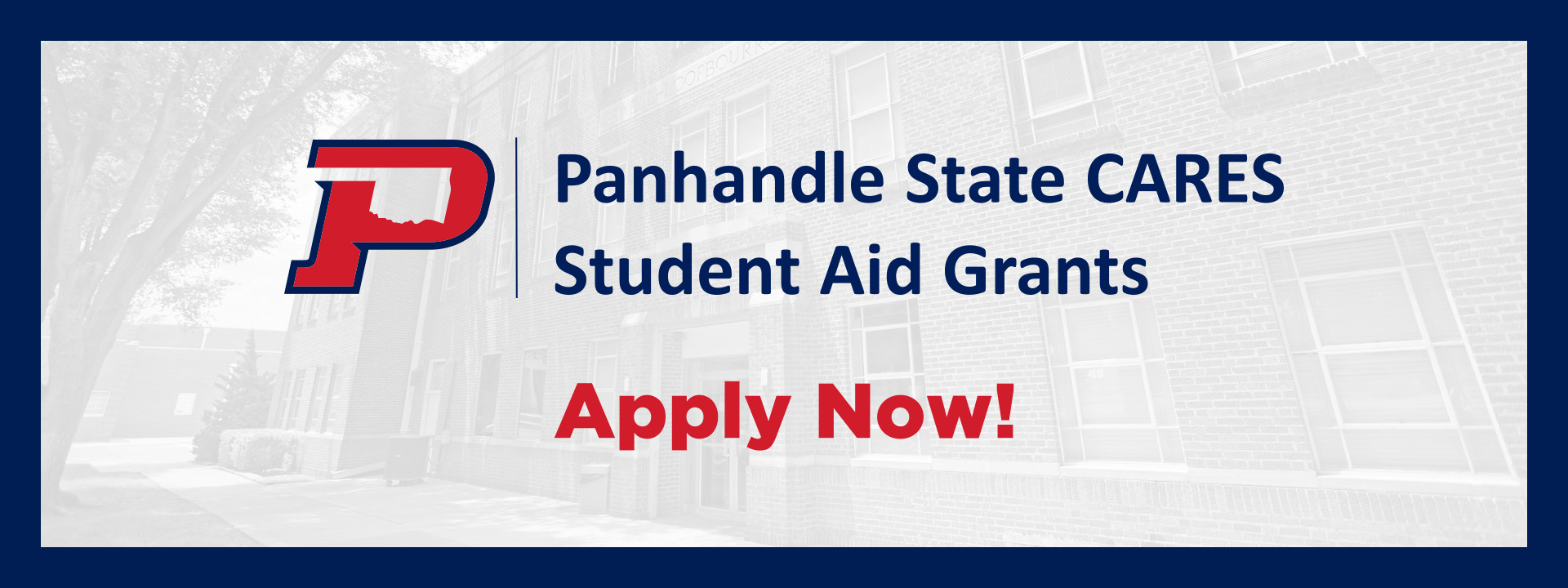 Panhandle State CARES Student Aid Grants - Apply Now