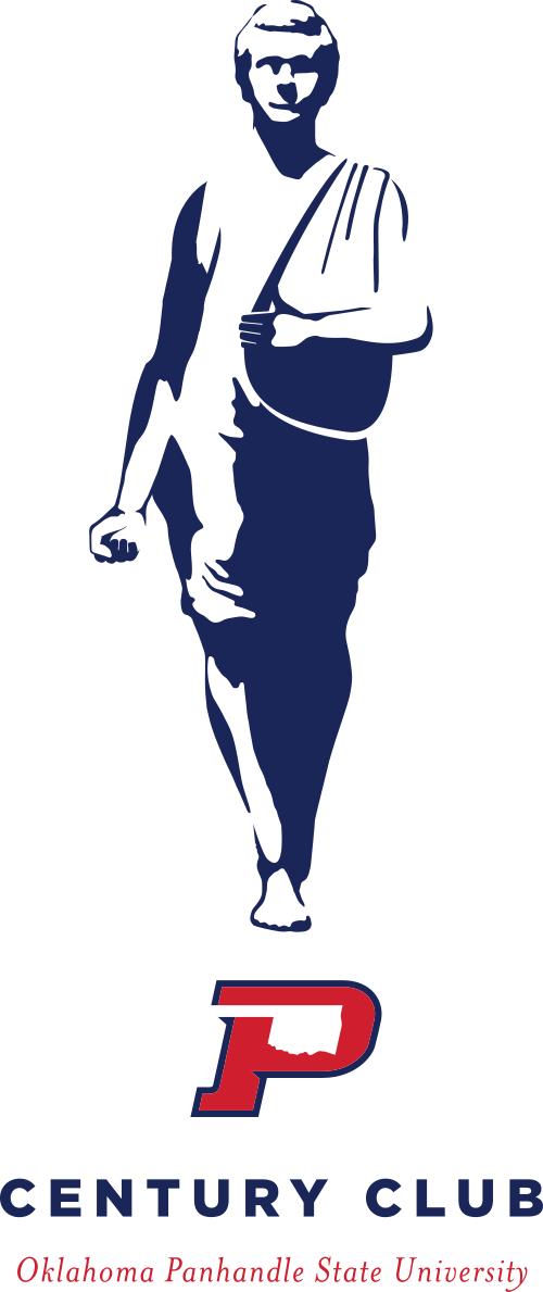 Century Club Logo Silhouette of The Sower Statue